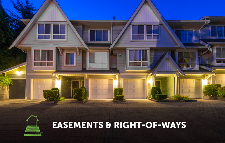 Easements And Right-Of-Ways