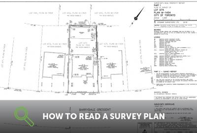 How To Read A Survey Plan
